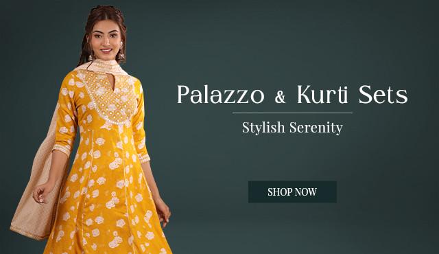 Palazzo & Kurti Set Collection