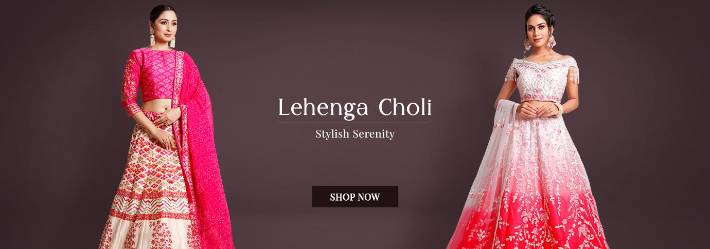 LEHENGA CHOLI COLLECTION
