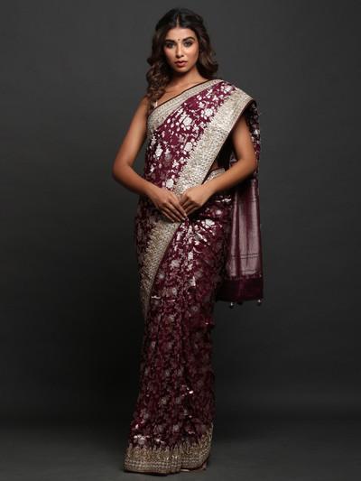 Banarasi Silk wedding wear exclusive  Saree