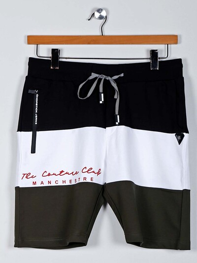 Chopstick black casual mens shorts