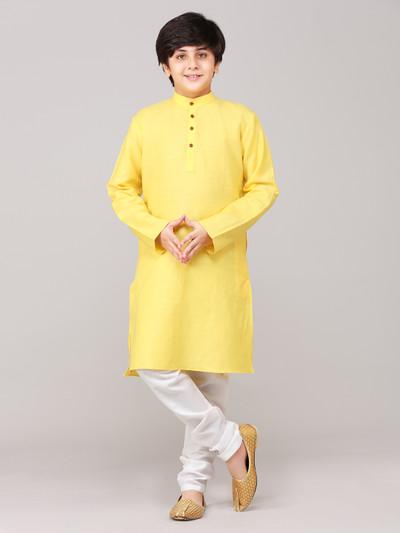 Festive cotton kurta suit for festive wear