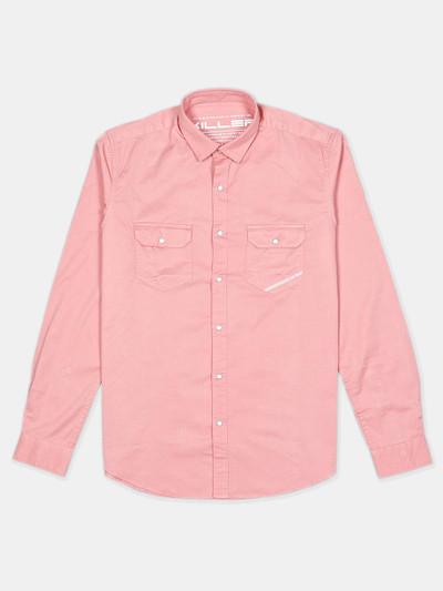 Killer presented solid pink shirt for mens