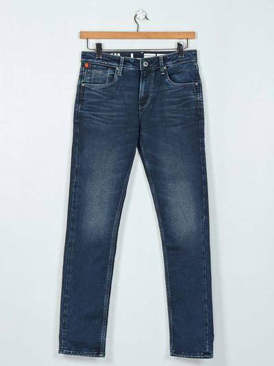 Killer slim fit dark grey washed jeans