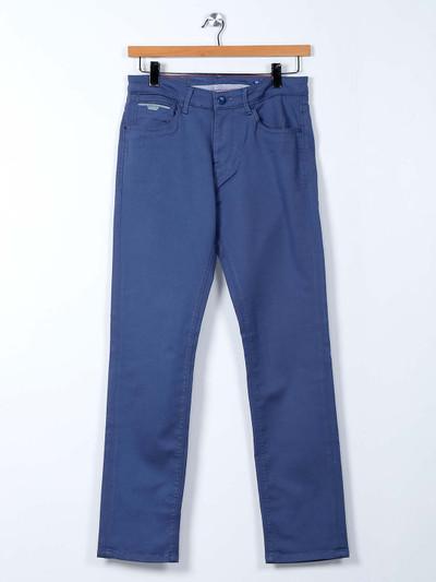 Killer solid blue slim fit jeans