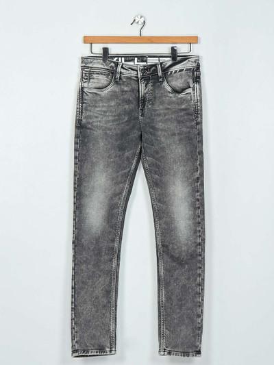 Killer washed dark green slim fit mens jeans