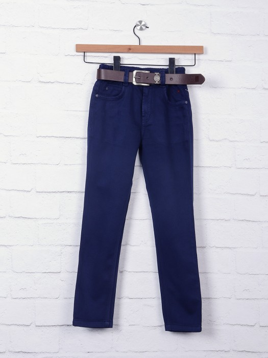 Bad Boys Solid Navy Jeans