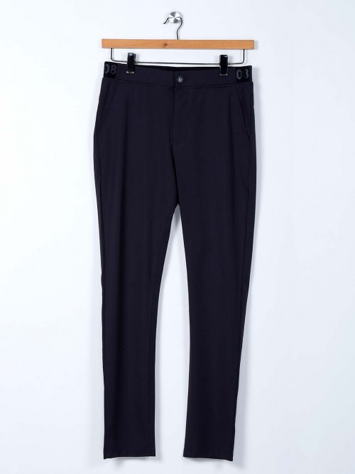 Cookyss Grey Cotton Track Pant