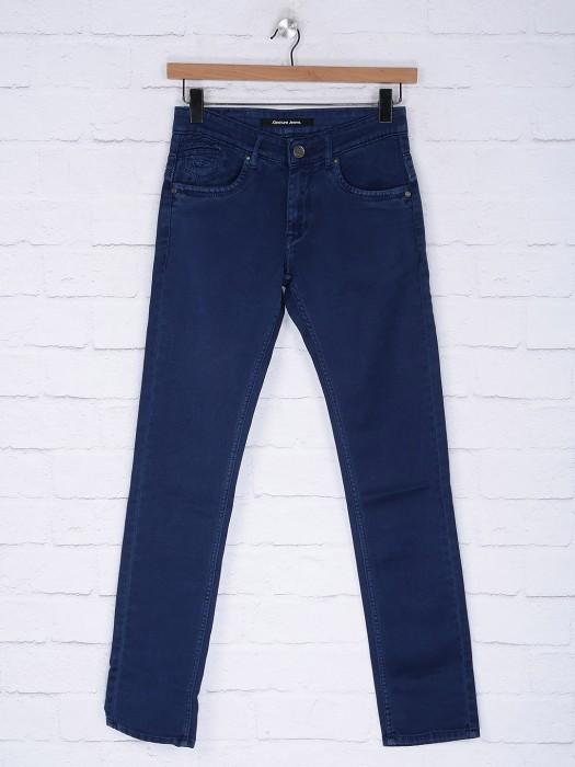 Gesture Simple Royal Blue Jeans