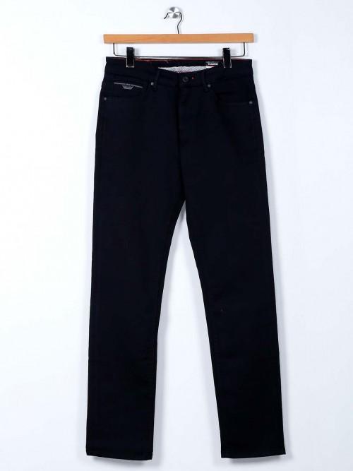 Killer Black Solid Slim Fit Mens Jeans