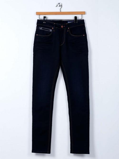 Killer Navy Skinny Fit Washed Mens Jeans