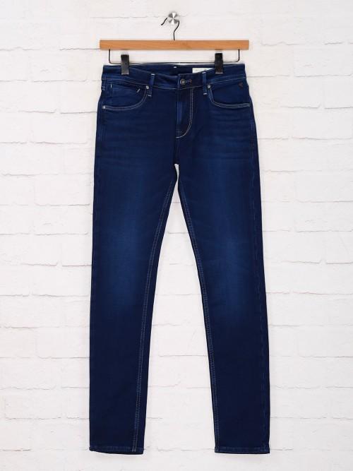 Killer Presented Solid Blue Slim Fit Jeans