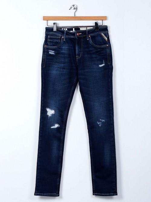 Killer Slim Fit Dark Blue Washed Jeans
