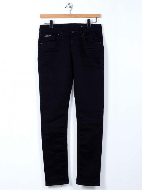 Killer Solid Black Mens Slim Fit Jeans
