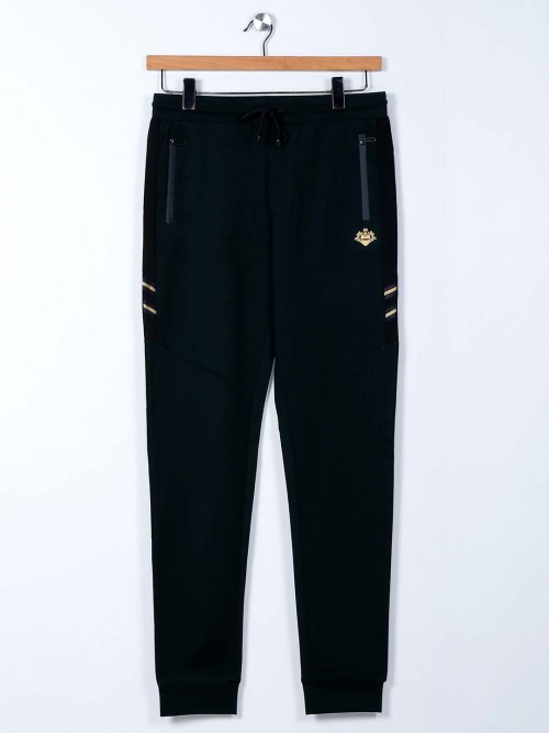 Maml Comfort Wear Green Track Pant