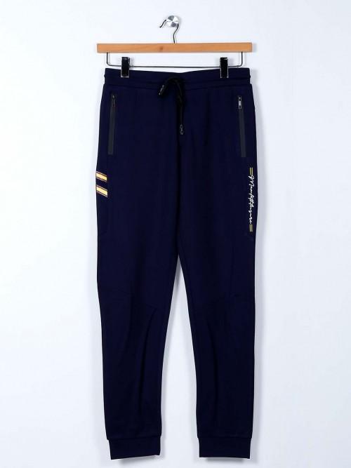 Maml Cotton Navy Night Wear Track Pant