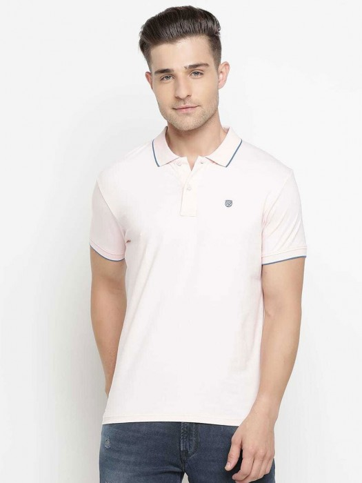 Pepe Jeans Light Pink Solid T-shirt