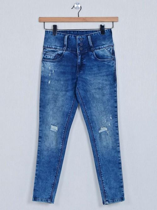 Recap Blue Denim Jeans For Women