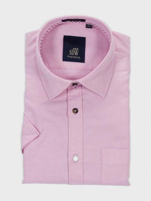 SDW Solid Pink Official Formal Shirt