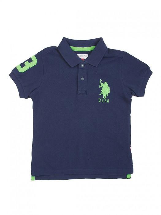 U S Polo Navy Color Cotton T-shirt