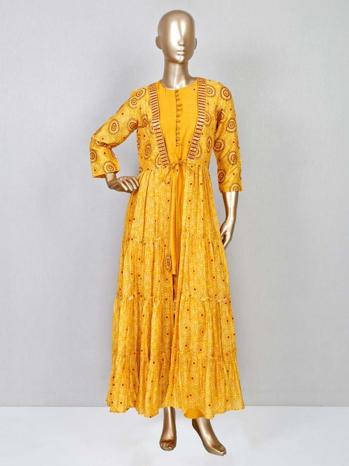 Yellow Jacket Stylepant Suit For Women