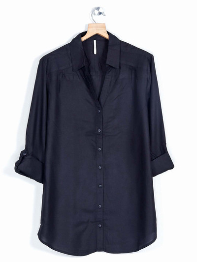 Latest black shirt for casual wear