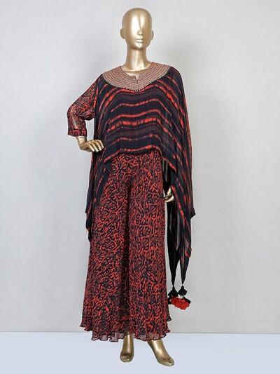 Latest brown jumpsuit for wedding function