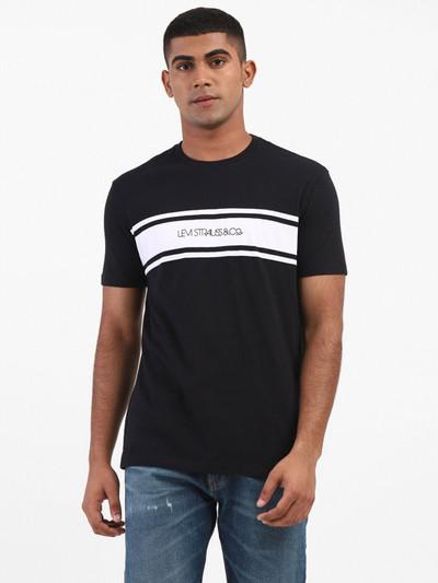 Levis printed black t-shirt