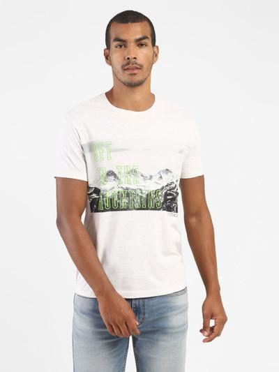 Levis printed white half sleeves t-shirt