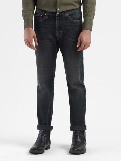 Levis washed black slim fit jeans