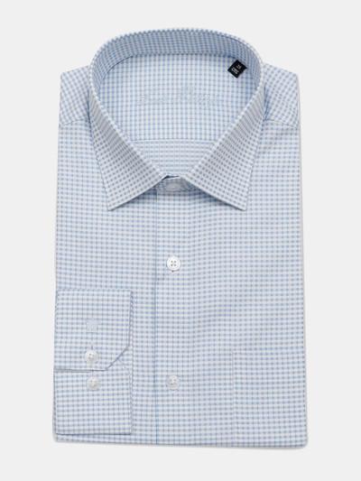 Louis Philippe formal blue checks shirt