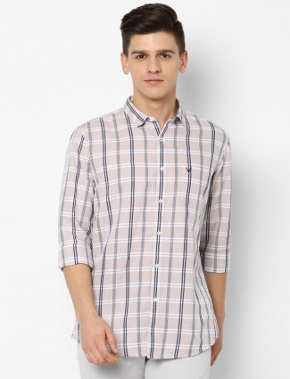 Allen Solly casual shirt in white tint