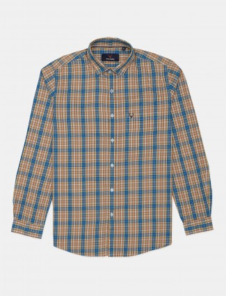 Allen Solly casual shirt in yellow tint