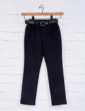 Bad Boys black solid comfortable jeans