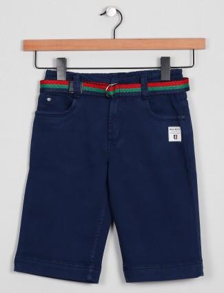 Badboys solid style blue tint shorts