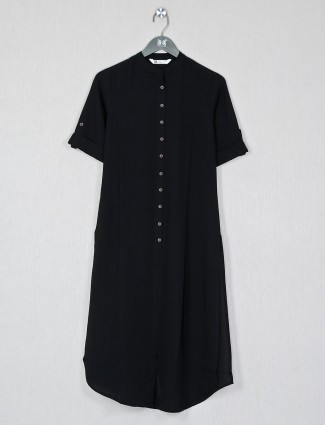 Black casual wear day to day wear womens kurti