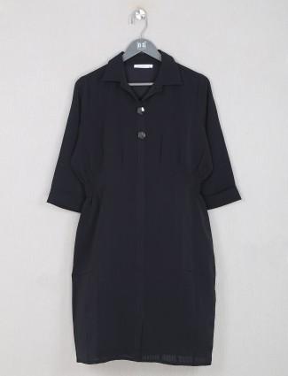 Black innovative casual wear women top