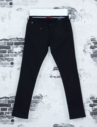 Black solid jeans from Nostrum