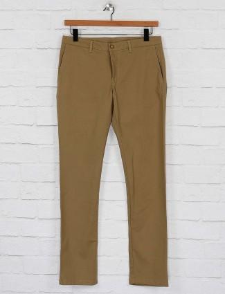 Blackberrys khaki hue slim fit trouser