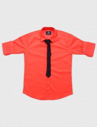 Blazo bright red hue party shirt