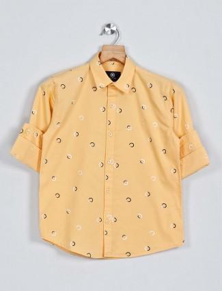 Blazo presented yellow printed shirt