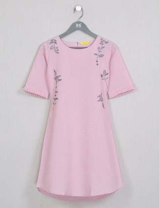 Casual occasions fabulous pink cotton top