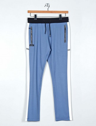 Chopstick blue night track pant