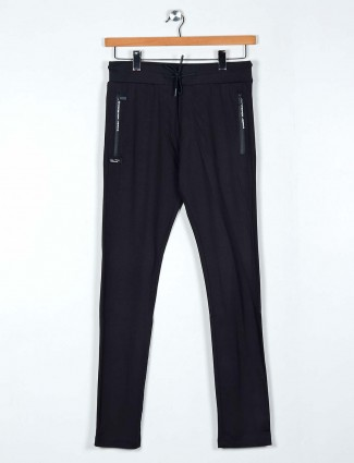 Chopstick cotton black solid payjama