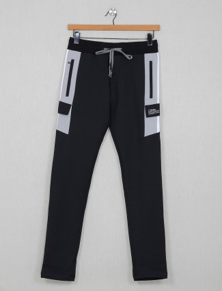 Chopstick solid grey comfortable track pant