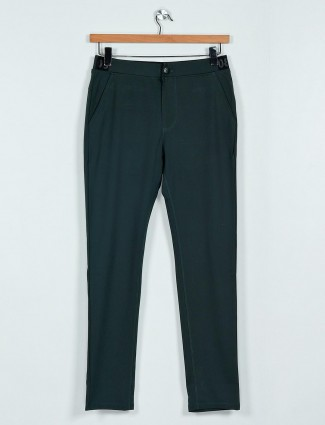 Cookyss green cotton track pant