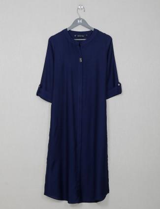 Cotton causal wear darkblue kurti