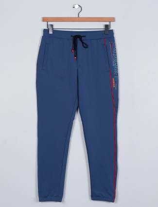 Deepee blue colored trouser in cotton