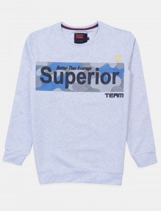 Deepee printed grey cottom t-shirt