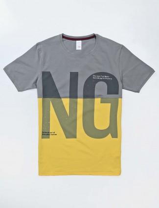 Deepee printed yellow t-shirt