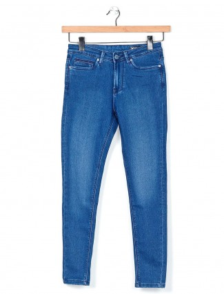 Desi Belle blue washed casual jeans